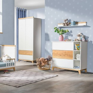 Armoire 2 portes Collection Nordik