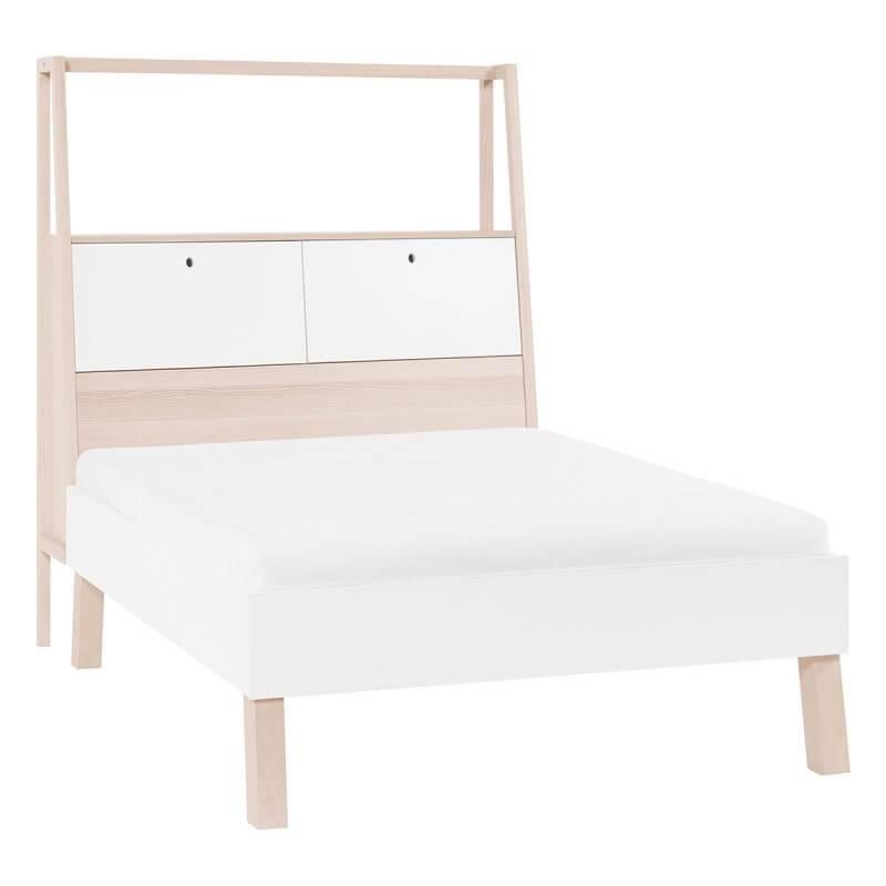 lit 2 personnes avec rangement collection spot young. Black Bedroom Furniture Sets. Home Design Ideas