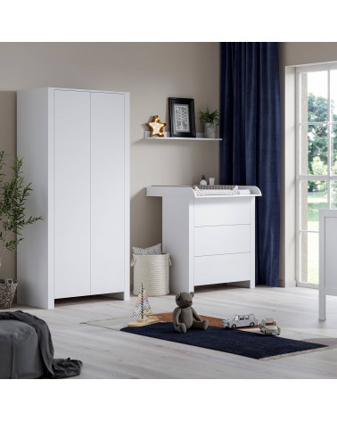 Armoire blanche Mélodie