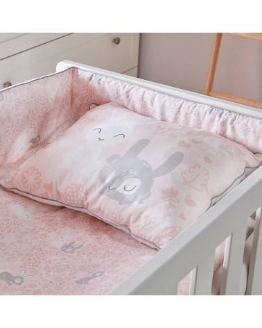 Lit bébé 140x70 Marie avec tiroir dans une chambre
