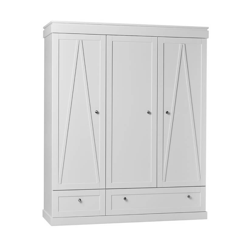 Armoire 3 Portes Blanche Marie