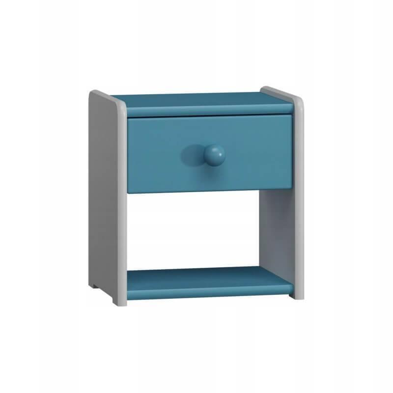 Table de nuit bleu