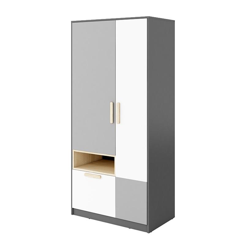 Armoire double avec tiroir Pok fermée