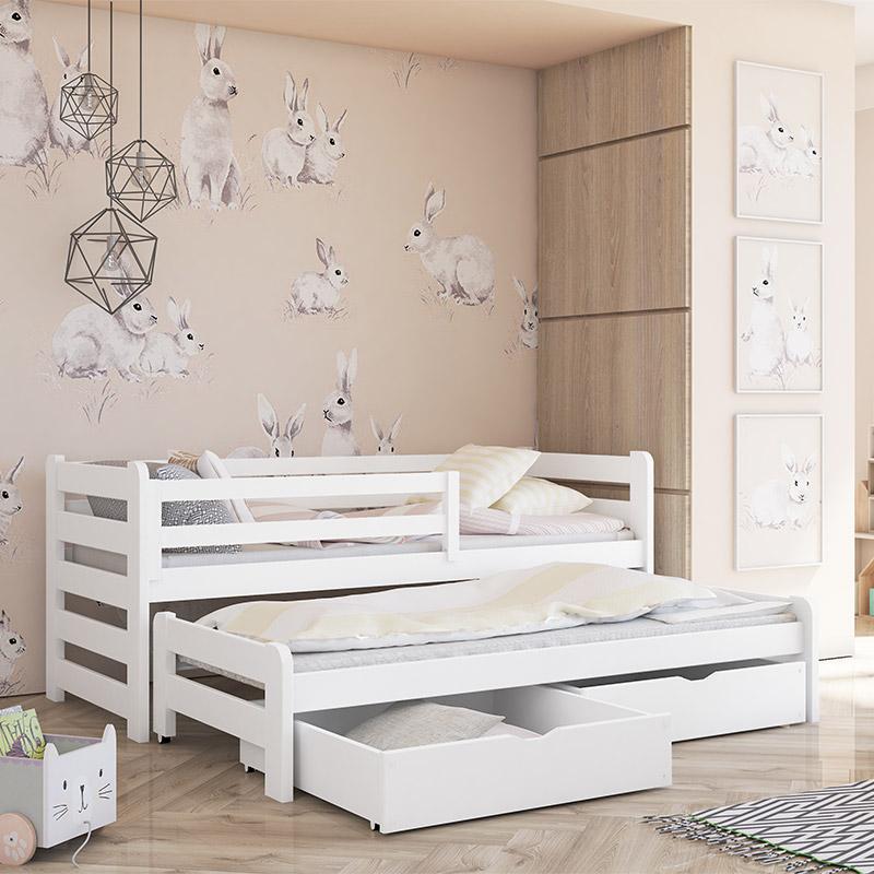 Lit gigogne Senso - Blanc