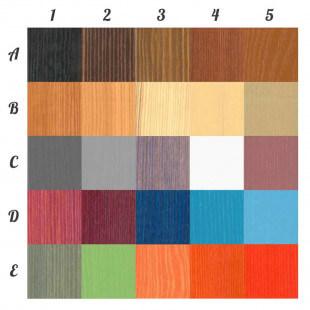 Lit enfant superposé Jack III avec lit gigogne personnalisable dans ces couleurs, nous contacter pour personnaliser.