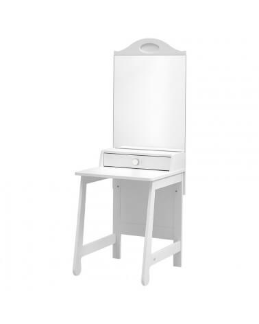 Meuble coiffeuse Moderne et Design collection Parole blanc