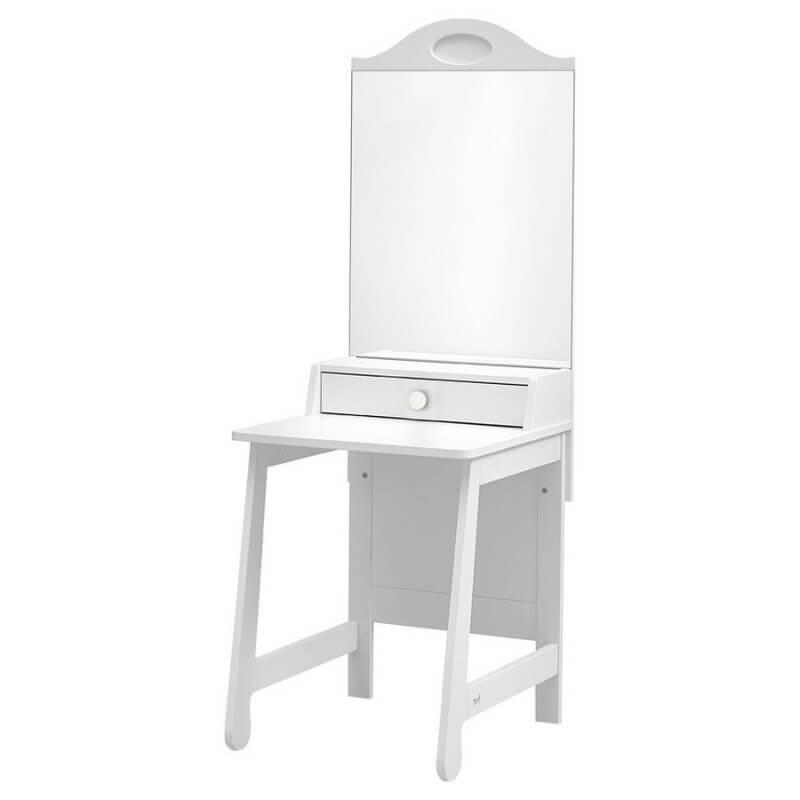 Meuble coiffeuse Moderne et Design collection Parole blanc