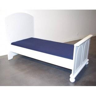 Drap Housse 160 cm x 70 cm pour Lit Junior - Disponible en 11 couleurs