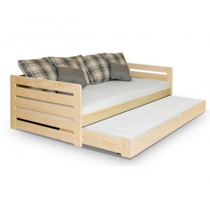 lit enfant rodos avec un lit d 39 appoint dans le tiroir. Black Bedroom Furniture Sets. Home Design Ideas