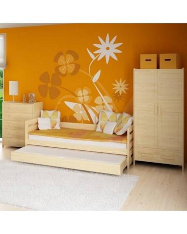 Armoire deux portes personnalisable - Collection Rodos