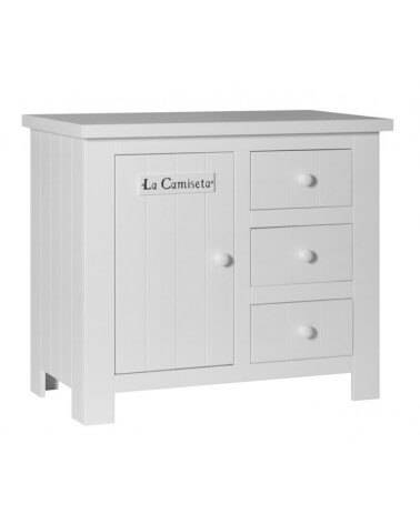 Commode Barcelone Blanche