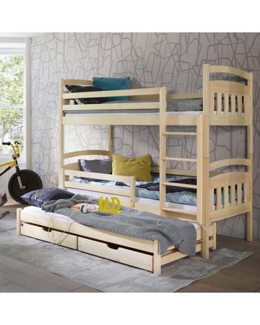 lit superpos alan 3 couchages dispo en 4 couleurs. Black Bedroom Furniture Sets. Home Design Ideas