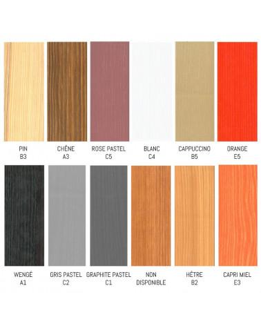 Lit Enfant Ola personnalisable dans ces couleurs, nous contacter pour personnaliser.