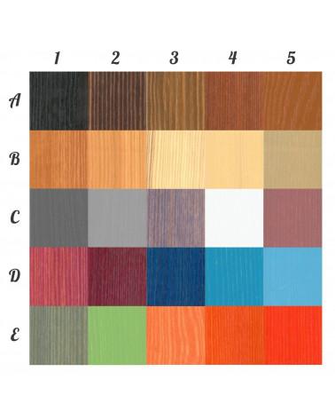 Bibliothèque Rodos personnalisable dans ces couleurs, nous contacter pour personnaliser.