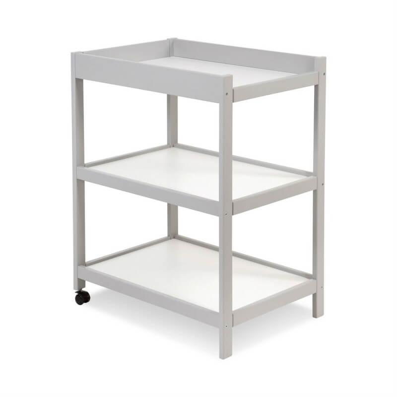 Table à langer mobile - Gris