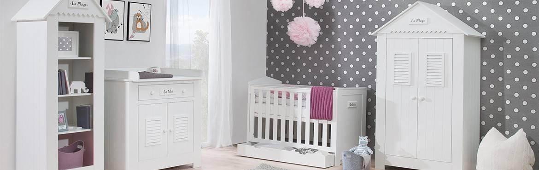 Chambre bébé Plage : un air de vacances dans votre maison, le design en plus.